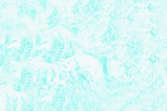 Blue turquoise aquamarine color background with white elements. Light abstract pattern. Blue turquoise aquamarine color background with white elements, light royalty free stock image