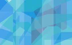 Blue and turquoise geometric background Royalty Free Stock Photo