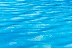 Blue turquoise sea water background, wallpaper, abstract pattern. Shot taken in Croatia royalty free stock photography