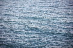 Blue turquoise water sea ocean background. The Blue turquoise water deep sea ocean background Stock Photo