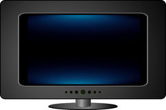 Blue tv Stock Photography