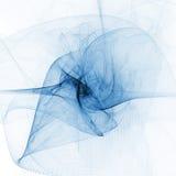 blue twirl Стоковое Изображение RF