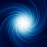 Blue Twirl Background. EPS 8 Royalty Free Stock Photo
