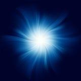Blue Twirl Background. EPS 8 Stock Photo