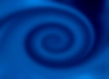 Blue twirl. A blue twirl for a special backgraund royalty free stock images
