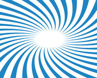 Blue Twirled Vector Background Ray Stock Photo
