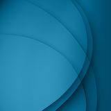 Blue  twist light lines vector background. Royalty Free Stock Images