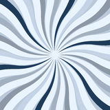 Blue twisted star square background Royalty Free Stock Photography