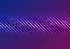 Blue ultraviolet neon laser glowing lines abstract background. Vector design royalty free illustration