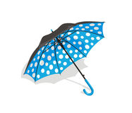 Blue umbrella Stock Images