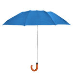 Blue umbrella Royalty Free Stock Photography