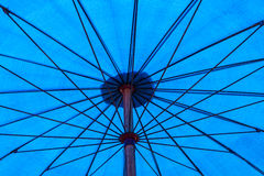 A blue umbrella Stock Photography