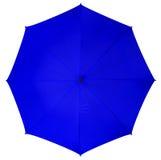 Blue umbrella isolated Stock Photos