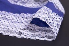 Blue underwear Stock Photos