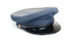 Blue uniform hat isolated Stock Photos
