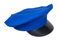 Blue Uniform Hat royalty free stock image