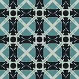 Blue universal vector seamless patterns, tiling. Geometric ornaments. Stock Photography