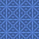 Blue universal vector seamless patterns, tiling. Geometric ornaments. Stock Photo