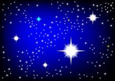 Blue Universe Stock Photo