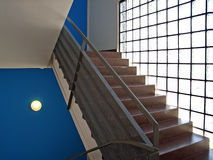 Blue Upstairs Royalty Free Stock Images