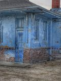 Blue Urban Decay Royalty Free Stock Photography