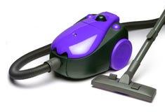 Blue vacuum cleaner Stock Photos