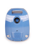 Blue vacuum cleaner (Clipping path) Stock Photos