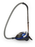 Blue vacuum cleaner Royalty Free Stock Image