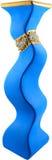 Blue Vase. Isolated On White Royalty Free Stock Photo