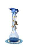 Blue vase stock photo