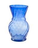 Blue vase Royalty Free Stock Images