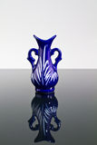 Blue Vase on A Mirror II royalty free stock photos