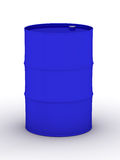 Blue vat on a white background. Stock Images