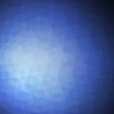 Blue Vector Abstract Geometric Background Royalty Free Stock Images