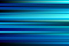 Blue vector abstract speed motion blur of night lights in the ci. Ty long exposure background Stock Illustration