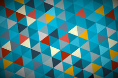 Blue Vector Abstract Triangle Background Royalty Free Stock Image