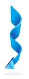 Blue Vector Arrow Royalty Free Stock Photo