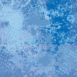Blue vector background Stock Photo