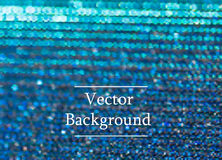 Blue vector background with sparkles and bokeh. Holidays shining background Royalty Free Stock Image