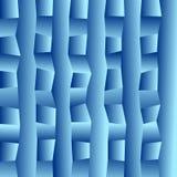 Blue vector blurry rectangular background. stock illustration