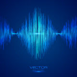 Blue vector equalizer Stock Photo