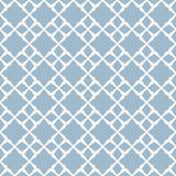 Blue vector geometric seamless pattern with small diamond shapes, floral figures. Vector geometric seamless pattern. Abstract background with diamond shapes vector illustration