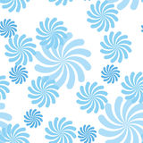 Blue vector pattern Stock Photo