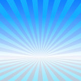 Blue vector rays Royalty Free Stock Images