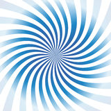 Blue vector spiral Royalty Free Stock Photography
