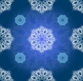 Blue vector winter ornament simillar Stock Photo