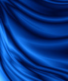 Blue velvet. Abstract blue velvet drapery background Stock Photo