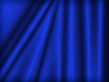 Blue velvet Stock Photos