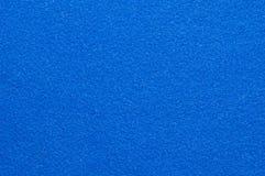 Blue velvet background Stock Photography