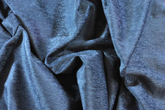 Blue velvet Royalty Free Stock Photography